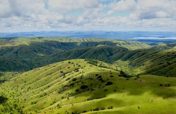 Collines et lacs du Rwanda
