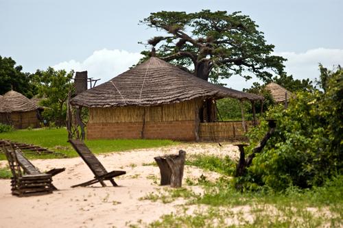 Ecolodge Keur Bamboung dans le Sine Saloum